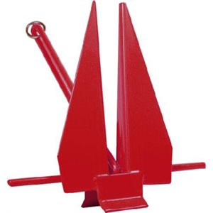 anchor slip ring-fluke style red 6lbs