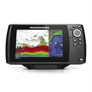 HELIX 7 CHIRP GPS G3 w / Navionics Card