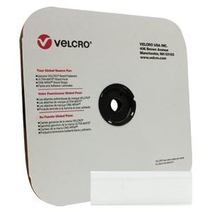 "1"" velcro white hook tape"