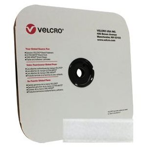 "1"" velcro white loop tape"
