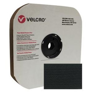 "2"" velcro® black pressure sensitive hook"