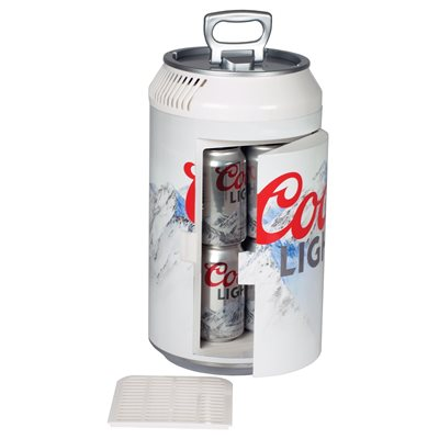 COORS LIGHT MINI CAN FRIDGE