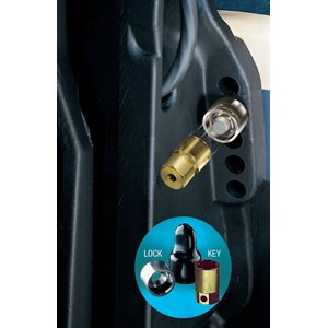 marine single outboard motor lock set (m12x1.25 thread size)