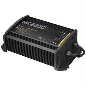 chargeur mk 220d (2 bancs x 10 amps)