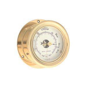 """barometer brass 3½"""""""