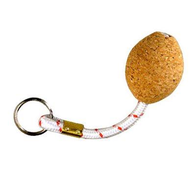 key chain w / oval cork