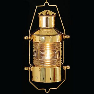 brass anchor lamp