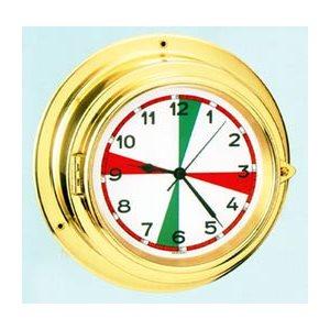 clock qrtz columbus 6'' radio silence sect.