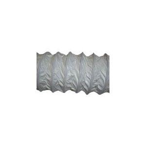 """boyau de ventilation  vinyle  blc 3""""  / pqt 10'"""
