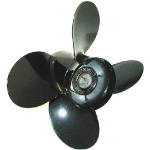 Aluminium vortex propeller 13 3 / 8 x 15'' 4blades