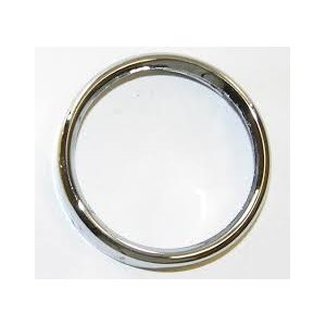 silver bezel