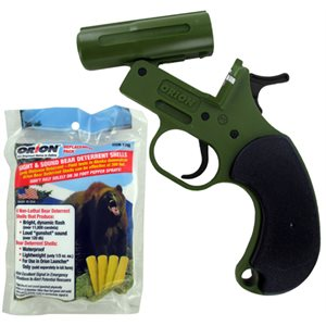 BEAR DETERRENT KIT GUN & 4 SHELLS