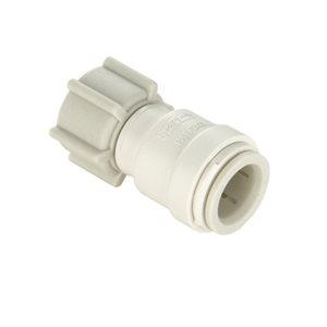"3 / 8"" x 1 / 2"" female connector"
