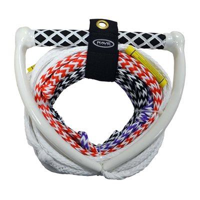 cable de touage pro 75' / 4 sections