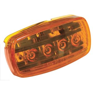 4 led clearance /  marker light amber