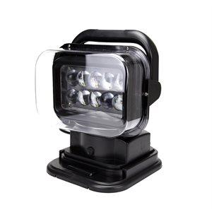 Black spotlight,portable remote