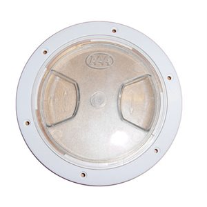 """deck plate,clear lid 4"""""""