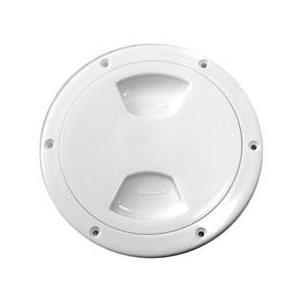 trappe d'accès ronde blanche 10,2cm