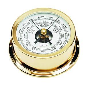 baromètre plaquée or cadran 70mm