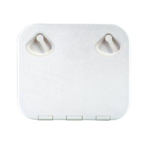 hatch,square white plstc.
