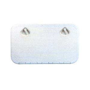 trappe d'accès rectangulaire blanche 35,2cm x 60,6cm