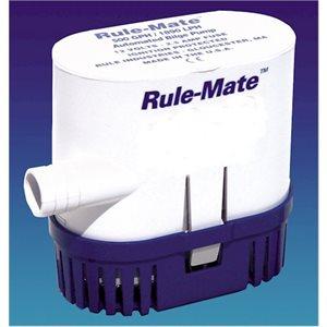 Pompe rule mate pour cale. 1500 gallons par heure. 12 volts.