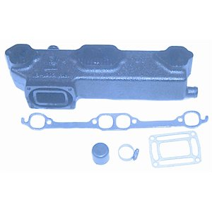 EXHAUST MANIFOLD V8 port