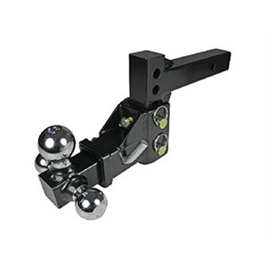 3 ball trailer hitch, adjustable