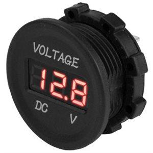 small round digital voltmter 6-30v