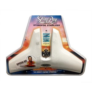 hydro tail stingray junior white
