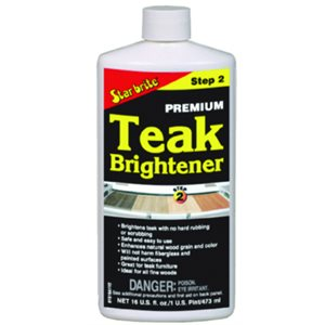 Premium Teak Brightener - Step 2  /  16oz