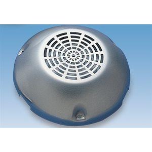 ventilateur avec couvercle en inox.