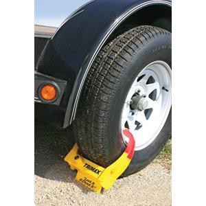 wheel chock lock