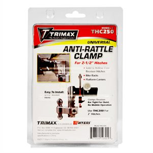 """Anti-Rattle Clamp for 2-1 / 2"""" hitches"""