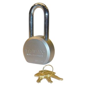 hardened 64mm solid steel padlock